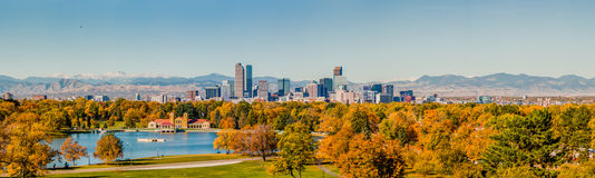 Mile High Skyline Royalty Free Stock Image