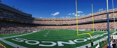 Mile High Stadium Royalty Free Stock Photo