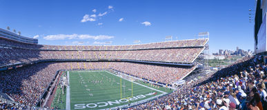 Mile High Stadium Royalty Free Stock Images
