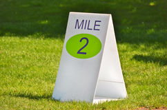Mile Marker Stock Images
