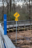 Mile Marker 4.4 Royalty Free Stock Photography