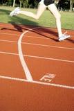 mile runner sports track Στοκ εικόνα με δικαίωμα ελεύθερης χρήσης