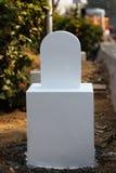 Mile Stone Royalty Free Stock Photo