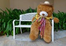 Mile widziany niedźwiadkowa lala Fotografia Royalty Free