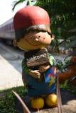 mile widziany Sztukateryjna lali chłopiec Obrazy Royalty Free
