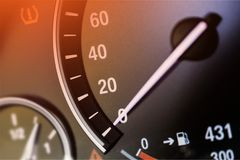 Mileage. Car high low auto automobile background Royalty Free Stock Photography