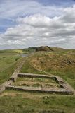 Milecastle 39 on Hadrians Wall Royalty Free Stock Photo