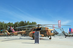 Milen Mi-17 Fotografering för Bildbyråer