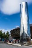 Milenio Cardiff de centro Fotos de archivo