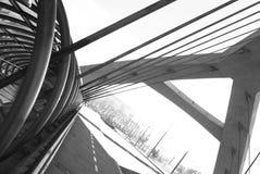 Milenio di Puente del tercer, Saragozza Immagini Stock Libere da Diritti