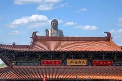 Milenio Fu Xiang Fu Temple del área escénica de Buda del gigante de Wuxi Lingshan imagen de archivo