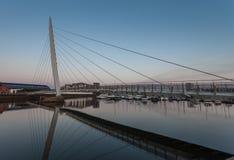 Milenium żagla most Zdjęcie Stock