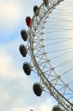 Milenium koło, Londyn, UK (Londyński oko) Zdjęcia Royalty Free