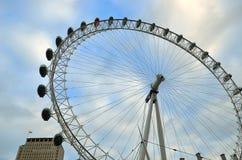 Milenium koło, Londyn, UK (Londyński oko) Obrazy Royalty Free