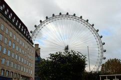 Milenium koło, Londyn, UK (Londyński oko) Obrazy Stock