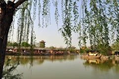 Milenium miasta park Zdjęcie Royalty Free