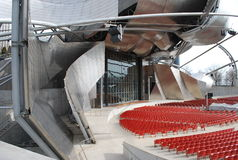 Milenium parkowy teatr Fotografia Stock
