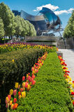 Milenium Pritzker Parkowy pawilon Obrazy Royalty Free