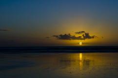 90 Miles Beach Sunset Royaltyfri Bild