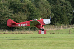 Miles Hawk vintage aircraft Royalty Free Stock Photo