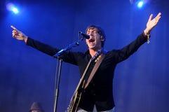 Miles Kane performs at FIB Royalty Free Stock Images