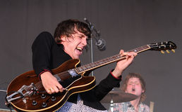 Miles Kane performs at FIB Stock Photography