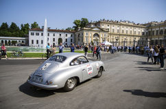 1000 miles, Royal Palace, Monza, Italy Stock Photos