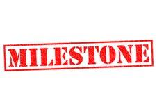 milestone ilustracja wektor