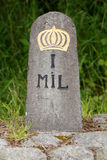 Milestone Royalty Free Stock Images