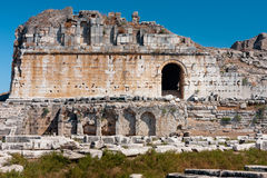Milet, theater of Miletus Stock Photos