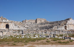Miletus amphitheater Royalty Free Stock Image