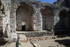 Miletus bad Arkivfoton