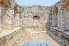Miletus starożytnego grka miasto w Didim, Aydin, Turcja zdjęcia royalty free