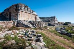 Miletus, Turkije, oude theaterruïnes Stock Foto