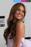 Miley Cyrus Photographie stock libre de droits