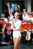 Miley Cyrus Obraz Stock