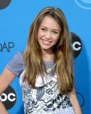 Miley Cyrus. ABC Television Group TCA Party Kids Space Museum Pasadena, CA July 19, 2006 royalty free stock photo