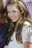 Miley Cyrus auf dem roten Teppich Stockbilder