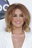 Miley Cyrus bij de Aankomst van de Toekenning van de Muziek van het Aanplakbord van 2012, MGM Grand, Las Vegas, NV 05-20-12 Stock Afbeeldingen