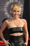 Miley Cyrus. LOS ANGELES, CA - AUGUST 24, 2014: Miley Cyrus at the 2014 MTV Video Music Awards at the Forum, Los Angeles Royalty Free Stock Image