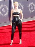 Miley Cyrus. At the 2014 MTV Video Music Awards held at the Forum in Los Angeles, USA on August 24, 2014 Stock Images