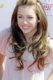 Miley Cyrus no tapete vermelho Fotos de Stock Royalty Free