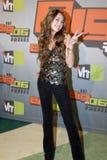 Miley Cyrus no tapete vermelho Fotografia de Stock Royalty Free
