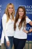 Miley Cyrus, Tish Cyrus Royalty Free Stock Image