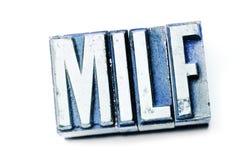 MILF immagine stock libera da diritti