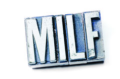 MILF royalty free stock image