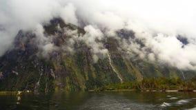 milford νέα διαδρομή Ζηλανδία Στοκ Εικόνες
