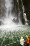 milford новый ядровый zealand fiord Стоковое Фото