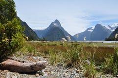 Milford Correct Nieuw Zeeland royalty-vrije stock afbeelding