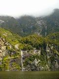 Milford Correct Nieuw Zeeland Stock Fotografie
